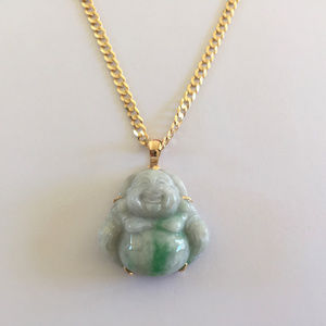 Nlf jewelry jewelry nwot 18k yellow gold laughing buddha jade nlf jewelry jewelry nwot 18k yellow gold laughing buddha jade pendant aloadofball Gallery